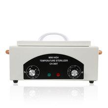 Портативный мини 220 В/110 В Высокая температура стерилизатор полотенца Маникюр Инструменты дезинфекции кабинета стерилизации чистящие средства