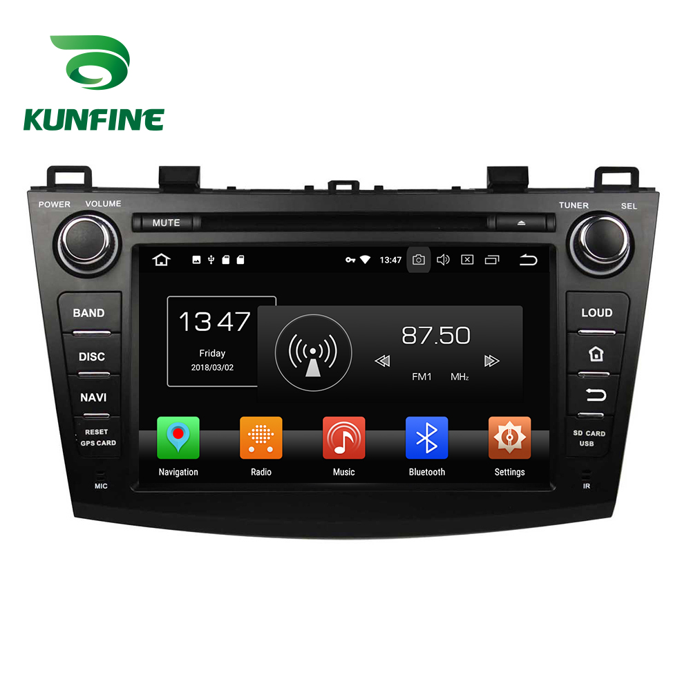 4 GB RAM Octa Núcleo Android 8.0 Car DVD GPS Navigation Multimedia Player Som Do Carro para Mazda 3 2009- 2013 Unidade Central de Rádio Wi-fi