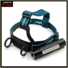 New Design Led CREE Q5 2000Lm Waterproof Head light Headlamp Cree 6 Pcs Camping Lantern Torch headlight by 18650 or 3 x AAA