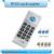 Inglês ver Handheld 125 Khz-13.56 MHZ mais freqüência Duplicador RFID cartão de acesso/Copiadora + 10 pcs 125 KHZ marcações + 10 pcs 13.56 MHZ tags