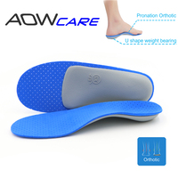 AOWCARE ANNIVERSARY SALE Arch Support Insoles Orthotic Shoe Pad Correct Pronation Fallen Arches Flat Feet EVA