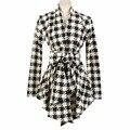 Women Winter Slim Long Sleeve Sweaters Cardigan Cotton Blend Girl Blouse Open Stitch Belt Coat Cami Outerwear