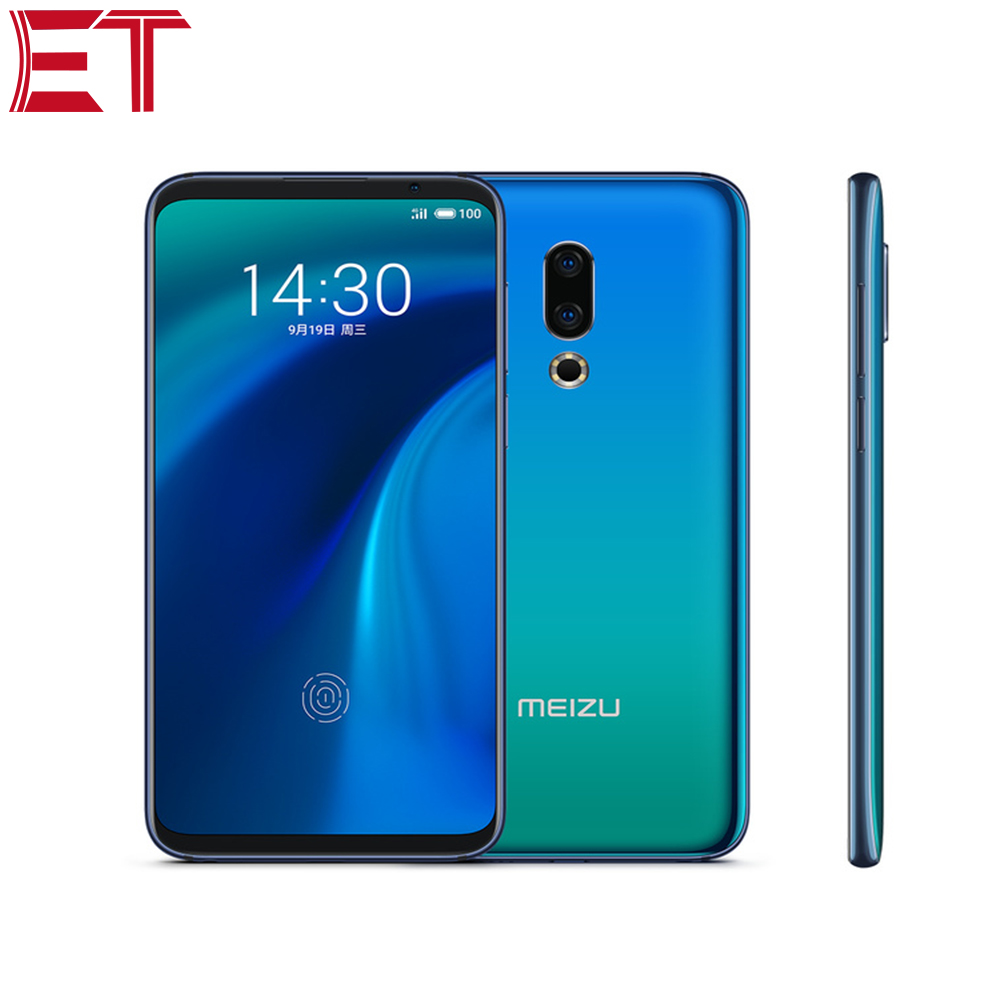 """New Cellphone MEIZU 16th 4G LTE 6"""" Snapdragon 845 Octa Core 8GB RAM 128GB ROM Adaptive Fast Charge AI Face Unlocked Smart phone"""