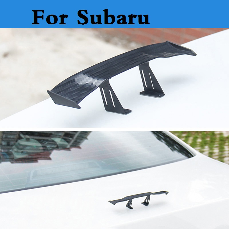 Auto Rear Hatchback trunk GT Wing Racing styling For Subaru Legacy Levorg Lucra Outback Pleo R1 R2 Trezia Tribeca WRX STi XV реснички на фары subaru legacy b4