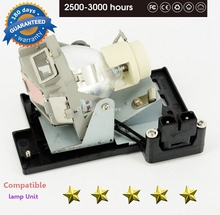 Compatível mp670/w600/w600 + 5j.j0705.001, para lâmpadas do projetor benq 180 dias de garantia