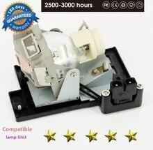 תואם MP670/W600/W600 + 5J. J0705.001 עבור BENQ מקרן מנורות 180 ימים אחריות