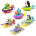 Baby Bath Toys Water Wheel 9-24 Months Cartoon Animal Toys For Babies Brinquedo Para Bebe Oyuncak For Bathroom Fun Water Toys