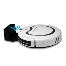 2016 600pa intelligent Mop Wet and Dry Robot Vacuum Cleaner for Home,Ciff Sensor,Self Charge ROBOT ASPIRADOR