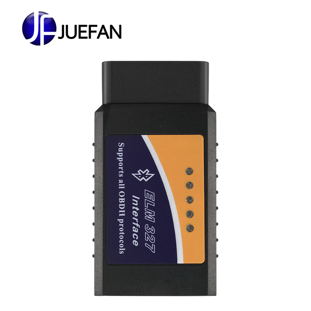 Special Offers Universal Vehicle OBD OBD-II elm327 bluetooth obd2 diagnostic tool ELM 327 V2.1 Bluetooth Car Interface Scanner Works On Android
