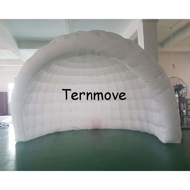 Trade show tent Half-Moon Inflatable Igloo Tent Stage Tents,luna inflatable pob structure,inflatable igloo tent with led lightTrade show tent Half-Moon Inflatable Igloo Tent Stage Tents,luna inflatable pob structure,inflatable igloo tent with led light