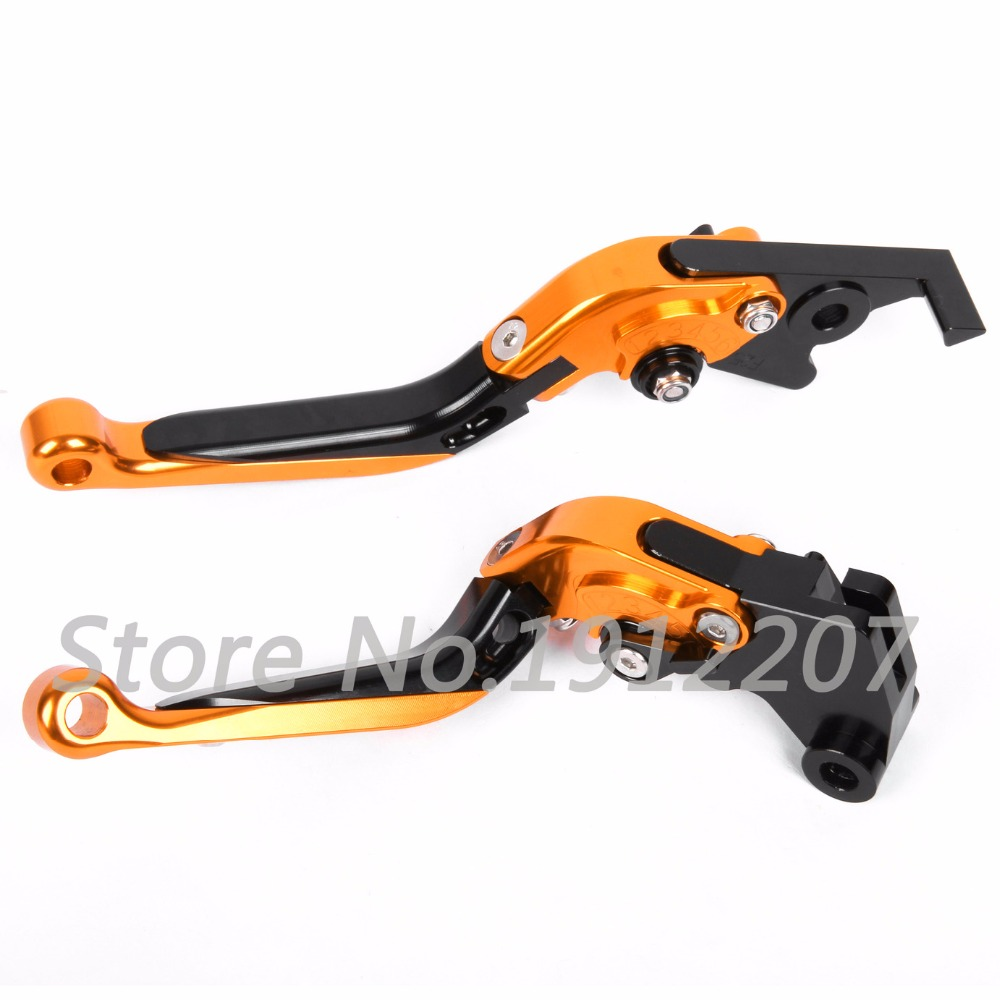 ФОТО For KTM 950 SMR/SUPERMOTO R 2008 Foldable Extendable Brake Clutch Levers Aluminum Alloy Folding&Extending High Quality Hot Sell