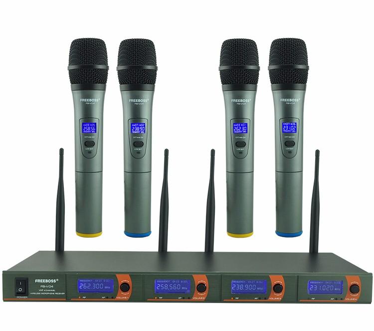 FB-V04  11 Wireless Microphones