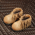 Suede Girls Boots Fringe non-slip Real leather Kids Chelsea boots shoes Fashion baby girl shoes 2-6T size 21-30