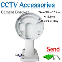 Hiseeu Wall type/Ceiling dome camera bracket installation/ stand/ holder cctv accessories for cctv camera hiseeu wall type ceiling bullet camera bracket installation stand holder accessories for cctv camera free shipping