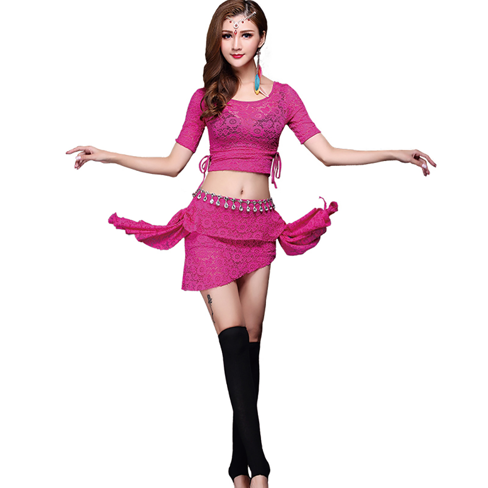 2017 Sex Lady Belly Dance Costumes Blueredrose Women Belly Dance Costume Set -9917
