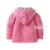 Nuevo 2016 baby girl primavera otoño suéter hecho punto del bebé prendas de vestir exteriores de algodón ropa de hilo Cardigan manga larga chaqueta de punto