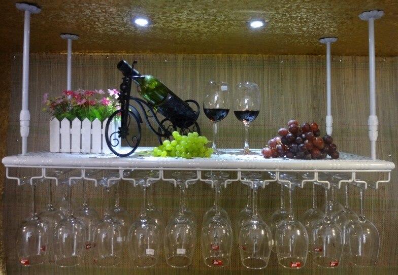 70*22 см модные Бар Кубок для красного вина держатель бокалов держатель подвесная полка твердые деревянные полки настенные деревянные вино п