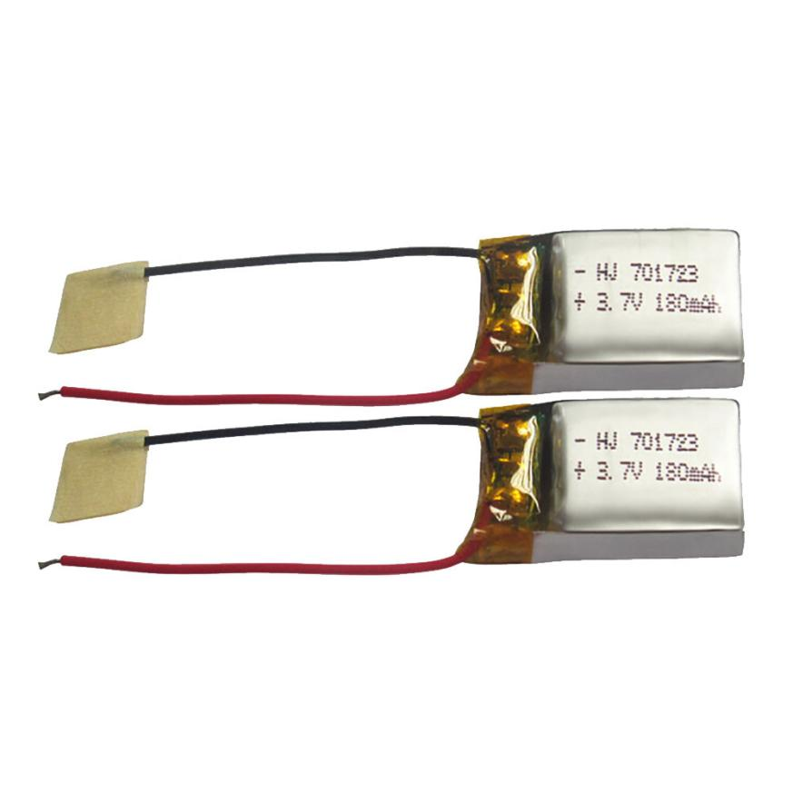 2PCS 3.7V 180mAh Lipo Battery for SYMA S107G S109G S111G MJX X900 X901 Drone Hot Sale Drone Spare Part High Quality henkel pattex 107 901 801 cg80