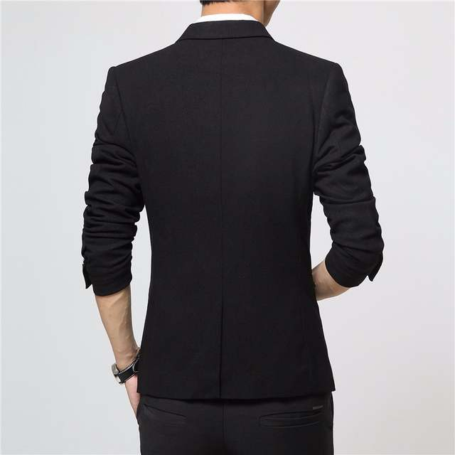 57a467e6fac310 placeholder FGKKS 2017 New Brand Spring Masculine Blazer Men Fashion Slim  Fit Suit Men Casual Solid Color