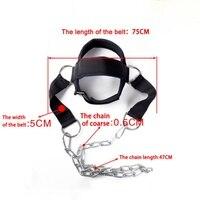 2017 Cabeça E Pescoço Ombro Dispositivo de Treinamento de Peso Força Exercício Sênior Cabeça Harness Correia Fitness Pesos Cabeça Ajustável