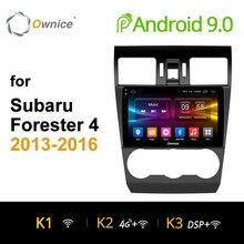 Ownice K1 K2 Octa Core Android 9.0 lecteur DVD de voiture pour Subaru WRX Forester 2014 2015 2016 avec Navigation GPS 2G RAM 32G ROM