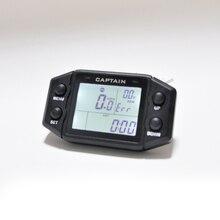 tachometer for auto motor 52 85mm mini round lcd digital red light 0 9990 rpm engine truck gauge 12 v 24 v lap timer hour meter Multifunction Hour Meter Digital Self Powered Engine tachometer Speed Meter with Voltmeter Service Reminder Gauge