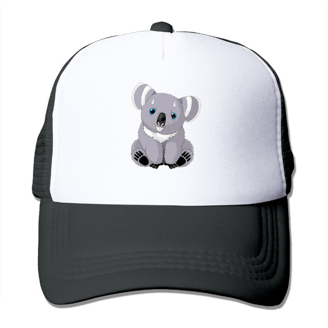 f6a3bb06e9c DUTRODU Unisex Baseball-caps Mesh Back Cute Australia Koala Bear Cap Hats  hip hop hat vary colors fitted