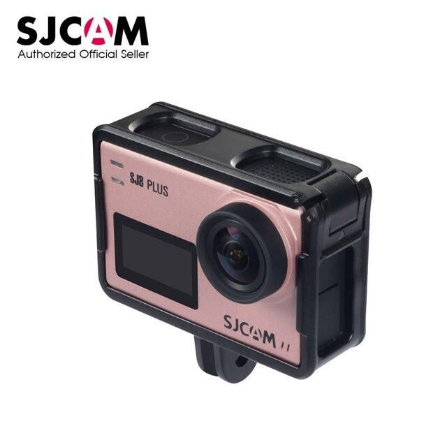 SJCAM SJ8 保護フレームホルダーマウントプラスチックフレームケース SJCAM SJ8 空気 SJ8 プラス SJ8 プロアクションカメラアクセサリー