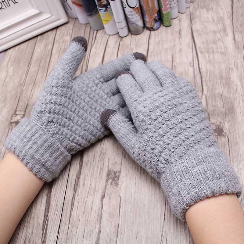 Miya Mona New Warm Winter Hand-Knitted Gloves Soft Wrist s