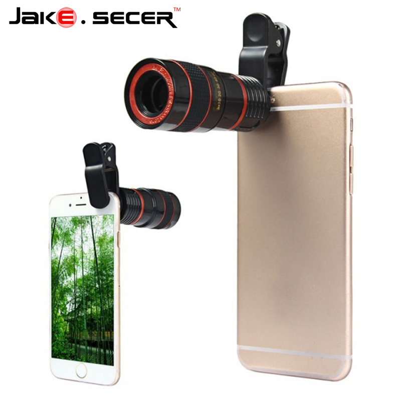 8x zoom mobile phone lenses for iphone 6 camera lens black for Fenetre zoom iphone x