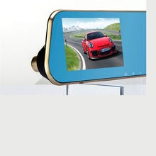 Kebidumei Full HD 1080P Car Camera Car DVR Blue Review Mirror Digital Video Recorder Auto Registrator Camcorder