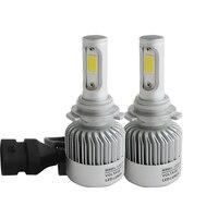 1 Pair 60W 6000lm H8 H9 H11 Cob Car Automotives Headlight Kit Bulb Led Fog Lamp