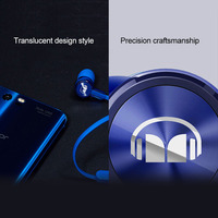 Huawei Honor AM15 Headset with Mic Piston Line Control Monster Design In Ear Earbud for Huawei P20 Mate20 P30 Honor View20