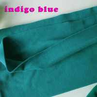 Indigo Blue Double Sided Polar Fleece Fabric Anti Pilling Hoodies Blankets Lining Fabric SOLD BY THE
