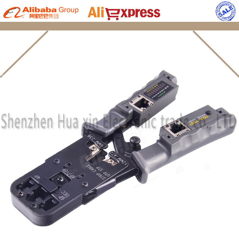 Multifunctional Network Crimping Tools for RJ45 Test Crimping Tool with Ratchet Cat6 RJ12 RJ45 RJ50 RJ11(8P8C/6P6C/6P4C) multifunctional network crimping tools for rj45 test crimping tool with ratchet cat6 rj12 rj45 rj50 rj11 8p8c 6p6c 6p4c