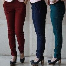 Spring and Autumn Style  leggings women trousers plus size 6XL Pockets Korean version of feet High waist women's pants