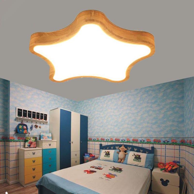 Licht & Beleuchtung Nordic Protokolle Sterne Deckenleuchten Kreative Persönlichkeit Lampe Schlafzimmer Holz Kunst Holz Led-lampe Japanischen Stil Lampen Ap4181735 Neueste Mode Deckenleuchten & Lüfter