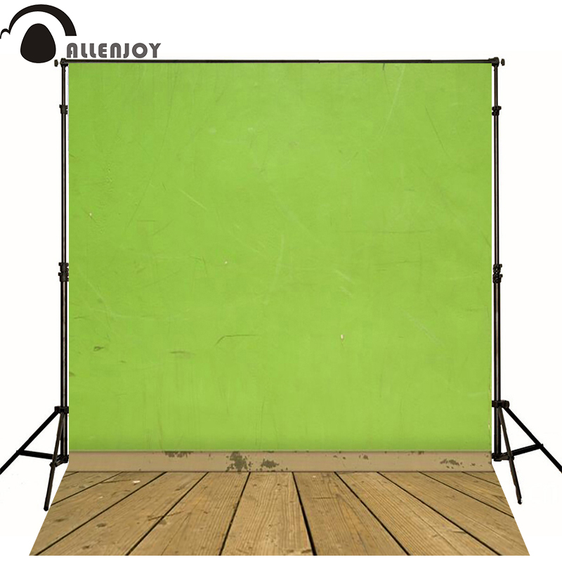 5ft*7ft Photography Background Vintage Photography Wood Backdrops Green Wall Background for Studio Fotografia Background Cloth