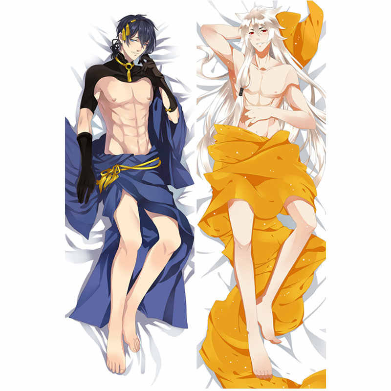 Anime Game Touken Ranbu Online pillow Covers Sexy boy Pillowcase 3D Double-sided Bedding Hugging Body pillowcase Customize TRB3