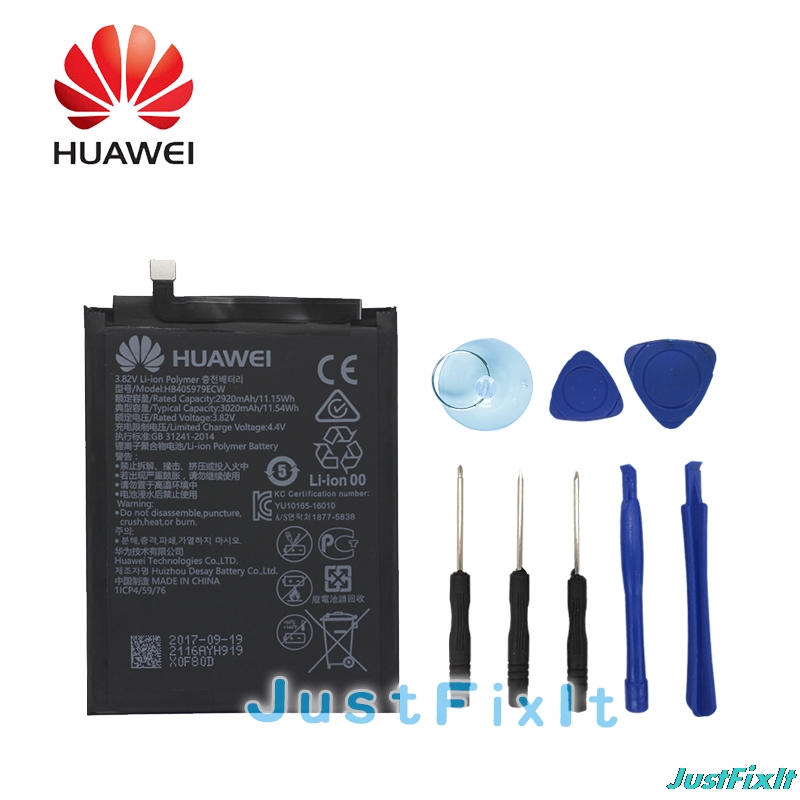 Honor 6c Hb405979ecw Hua Wei Original Replacement Phone Battery For Huawei Nova Enjoy 6s P9 Lite Mini 2920mah Activating Blood Circulation And Strengthening Sinews And Bones Y5 2017