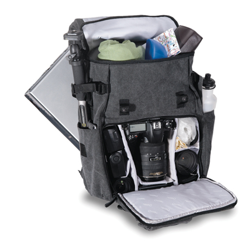"""Image 3 - New Genuine National Geographic NG W5070 Camera Case Bag Shoulders Bag Backpack Rucksack can put 15.6""""  Laptop Outdoor wholesale-in Camera/Video Bags from Consumer Electronics"""
