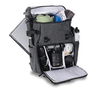 """Image 3 - Yeni orijinal National Geographic NG W5070 kamera çantası omuz çantası sırt çantası sırt çantası koyabilirsiniz 15.6 """"Laptop açık toptan"""