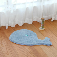 Home Cartoon Animal Floor mat Cushion Superfine Fiber Floor carpets Bathroom Supplies Anti skid Foot Carpet Cute Dolphin rug