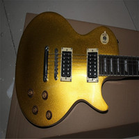 Best Quality Cheap Price Chinese KPOLE LP Guitar Goldtop Standard Electrica Guitarra In Stock For Shipping