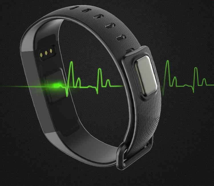 TEZER R5MAX smart Fitness Bracelet Watch intelligent blood pressure heart rate Blood oxygen 50 LETTERS SMS APP Message push 5