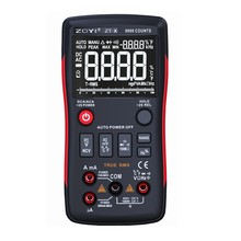 ZOYI Digital Multimeter AC DC Voltmeter True RMS NCV Diode Capacitor Ohm Data Hold LCD ZT-X 9999 Counts AutoRange Multimeters