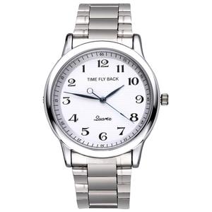 Image 4 - Quartz saat erkekler çelik su geçirmez saat yönünün tersine ters ölçekli yağ kabartma arama bilezik izle moda erkekler İzle erkek saat