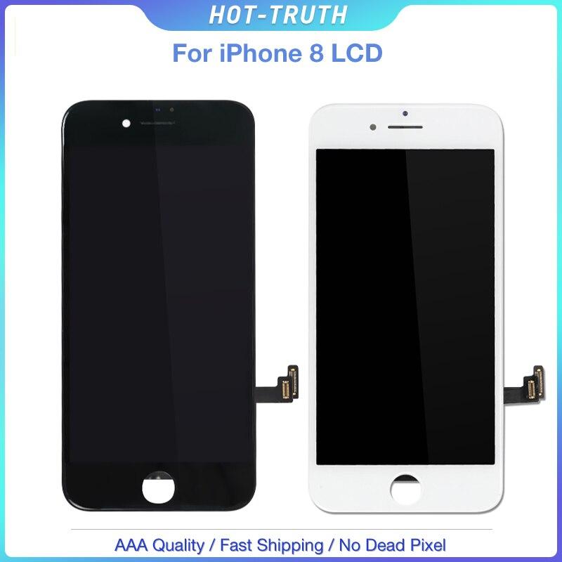 100 Pcs/Lot prix de gros pas de Pixel mort OEM LCD pour iPhone 8 affichage numériseur assemblée avec 3D tactile Mix couleur DHL livraison gratuite-in Écrans LCD téléphone portable from Téléphones portables et télécommunications on AliExpress - 11.11_Double 11_Singles' Day 1