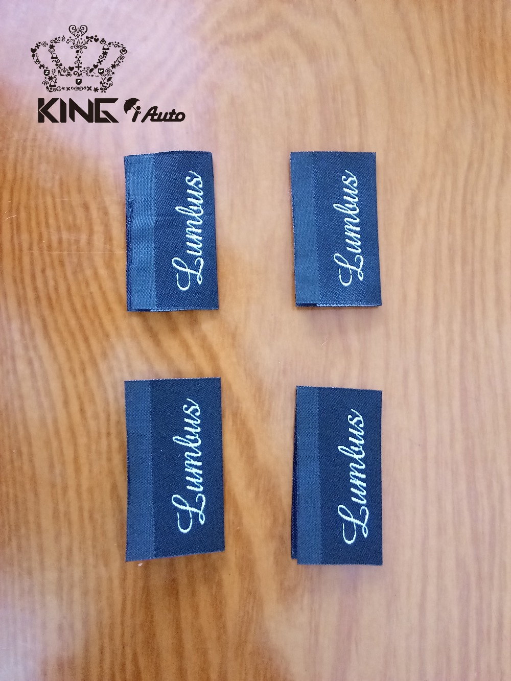 World Famous Brand / Customized Personal logo woven label