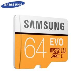 Image 4 - SAMSUNG carte Micro SD EVO EVO + 64 go, classe 10, U3, TF/S, C10 r100 mo/S, XC UHS 1, compatible 4K UItra HD, nouvelle carte mémoire originale